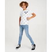 Ketnet Wit Stip IT-shirt Ketnet allover print