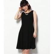 【WEDDINGS&PARTIES】ネックレス付きバックリボンドレス