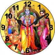 3d ram darbar2 wall clock