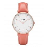 CLUSE Horloges La Boheme Rose Gold Colored White Rood