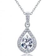 Colier Borealy Argint 925 Diamond Halo Infinity One