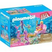 Playmobil Starter Pack - Sirenas Con Carruaje De Mar - 70033