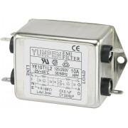 Filtru de retea 250 V/AC Yunpen, YE10T1L2, 4 x 1,2 mH, 10 A