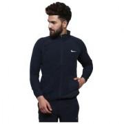 Nike Navy Polyester Lycra Jacket