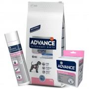 12kg Advance Atopic trucha + 200 g Suplemento DermaForte + Champú Atopic Care