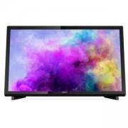 Телевизор Philips 22 инча LED TV, Full HD, 200 PPI,12V, Pixel Plus HD, DVB-T2/C/S3, 22PFS5403/12
