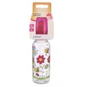 Biberon Family Unisex PP 250 ml cu tetina latex pt lapte, nr 1, nip 35005