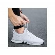 Calzado Deportivo Transpirable Casual Para Hombre Nuevo-Blanco