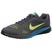 Nike Men's Tri Fusion Run Msl Dark Grey, Volt and Blue LagoonRunning Shoes -7 UK/India (41 EU)(8 US)