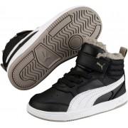 Puma Rebound Street Sneaker Baby, Black/White 22