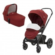 Joie Carucior multifunctional 2in1 Chrome Deluxe 0m+ Cranberry