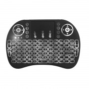 Mini tastiera QWERTY Wi-Fi con retroilluminazione bianca 2.4GHz LKM Security LKM-KEY03BK