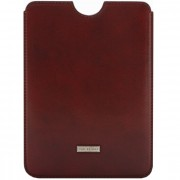The Bridge Slg Story Line Mini iPad Case leer 15,7 cm vinaccia nickel