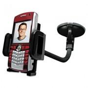 Windshield/vent Car Mount For Smartphones, Black