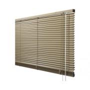 Jaluzea aluminiu Soluna 80x170 cm, mocca, cu 20% mai multe lamele pentru un efect de umbrire mai ridicat