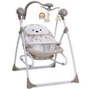 Електрическа бебешка люлка Cangaroo Swing Star, Бежова, 356319