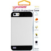 Promate Philis iPhone 5 Modish Protective Case Colour: White combination of sophisticated Modish Protective Case for iPhone5/5S