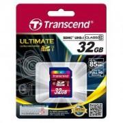 Transcend 32GB SDHC (Class10) UHS-I Card - TS32GSDHC10U1