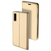 Capa Flip Dux Ducis Skin Pro para Samsung Galaxy A7 (2018) - Dourado