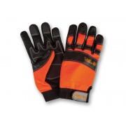 Schnittschutz Sägenspezi - Handschuhe Größe M / 9 - Forsthandschuh für Motorsäge / Kettensäge