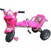 Oh Baby Baby Robot Mask With Double Seat Pink Color Tricycle For Your Kids SE-TC-15