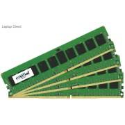 Crucial 32GB(8GBx4) Kit DDR4 2133MHz Unbuffered ECC CL15 1.2V Server Memory
