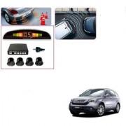 Auto Addict Car Black Reverse Parking Sensor With LED Display For Honda CR-V