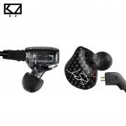 KZ ZST Dual Driver Oortelefoon Dynamische En Armature Afneembare Bluetooth Kabel Monitoren Geluidsisolerende HiFi Muziek Sport Oordopjes