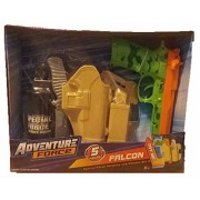 Adventure Force FALCON 5pc Special Forces Role Play Leg Holster Set - TAN