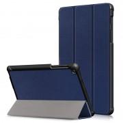 Bolsa Fólio Tri-Fold para Samsung Galaxy Tab A 8 (2019) with S Pen - Azul Escuro