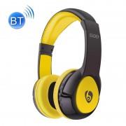 OVLENG S99 Bluetooth Stereo Headset hoofdtelefoon met Mic steun FM & TF kaart voor iPad iPhone Galaxy Huawei Xiaomi LG HTC en andere slimme Phones(Yellow)