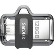 SanDisk Ultra Dual SDDD3-128G-G46/SDDD3-128G-i35 otg drive 128 GB OTG Drive(Black, Type A to Micro USB)