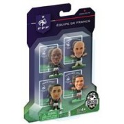 Figurine SoccerStarz France 4 Figurine Ben Arfa Payet Jallet And Diaby 2014