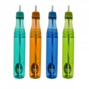 KUDOS Straw bottle 700 ml Water Bottles ( Pack of 4 )