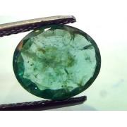 3.19 Ct Unheated Untreated Natural Zambian Emerald Panna Gemtone