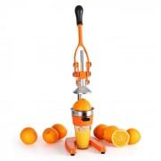 OneConcept EcoJuicer XXL ръчна сокоизтисквачка оранжева (OJ1-ECOJUICER XXL OR)