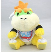 "Super Mario Bros / Brother Bowser Jr Koopa 7"" Plush Plushies Anime Stuffed Animals Doll Toy"