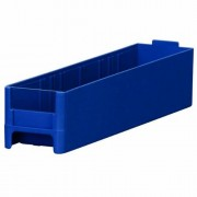 Akro-Mils 20228 Replacement Drawer for 19228 Steel Storage Cabinet, Blue, Case of 56