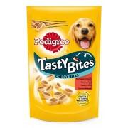 Pedigree Tasty Bites snacks de vacuno para perros - Pack % - Chewy Cubes con pollo 6 x 130 g