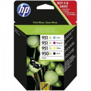 HP 950XL Black/951XL Cyan/Magenta/Yellow 4-pack Original Ink Cartridge - C2P43AE