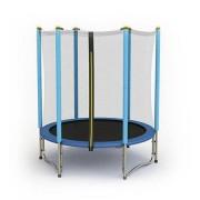 Trambulina cu plasa de protectie Sportmann albastru 140 cm