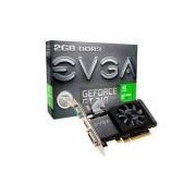 Placa de Vídeo Gpu Evga Geforce Gt 710 2GB / DDR3 / 64BITS / Pn: 02G-P3-2713-Kr