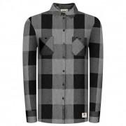 Bleed - Lumberjacks Shirt - Chemise taille S, noir/gris
