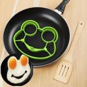 Силиконовая форма для яичницы и оладьев Лягушка