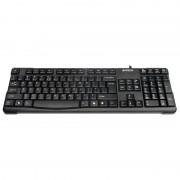 Tastatura comfort Round USB A4Tech, Negru