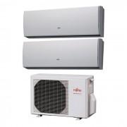 Fujitsu Condizionatore Dual Split Lu 7000+12000 7+12 Btu Inverter Aoyg14lac2 A++