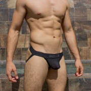 McKillop Xtreme Bullet Sphere Jock Strap Underwear Black XJSP-BK1