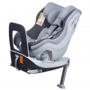 Scaun auto Rear Facing rotativ Tiago 0 18 kg gri KidsCare