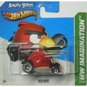 Hot Wheels Hw Imagination Angry Birds Red Bird on Short Card