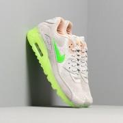 Nike Air Max 90 Premium Pure Platinum/ Electric Green-Bio Beige